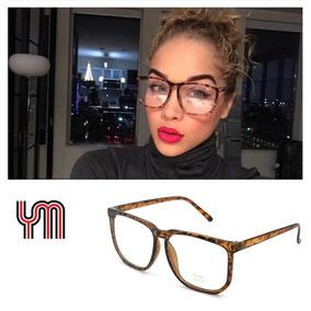 2d8f092deb1bf Oculos Retangular Estreito Feminino Vintage De Grau - Óculos no ...