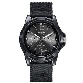 Reloj Para Hombre Deportivo Sport Negro Acero Inoxidable