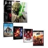 Coleção Completa Dvd Star Wars - 10 Dvds Originais