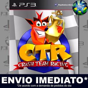 Jogo Ps3 Ctr Crash Team Racing Play 3 Psn Mídia Digital