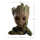 Maceta, Macetero Baby Groot Marvel 100% Detallado