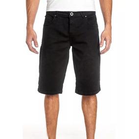 Bermuda Jeans Volcom Vorta Original (com Nota) Preta