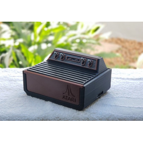 Case Atari Para Raspberry Pi 3 Pi3 Exclusiva Escrito Atari