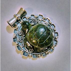 Dije Tortuga De Jade Montada En Plata Artesanal, Protección