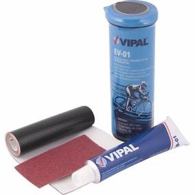 Kit Remendo Reparo Vipal + Cola P/ Câmara Ar Bicicleta