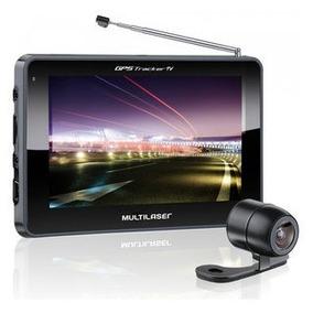 Gps Tracker Tela 5 Touch Tv Digital Câmera De Ré Multilaser