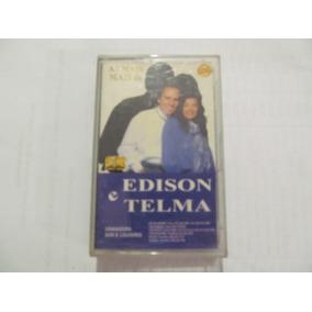 K7 Edison E Telma - As Mais De Edison E Telma - Play-back