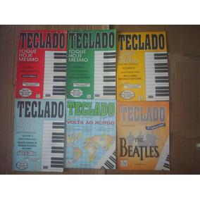 Coleção Livros De Teclado -beatles-jovem Guarda Outros