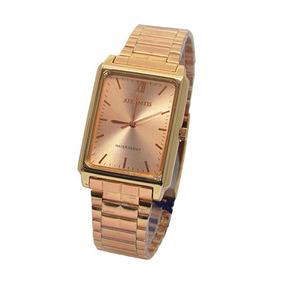 db56a26b2ad Relogio Atlantis Quadrado Feminino - Relógios no Mercado Livre Brasil