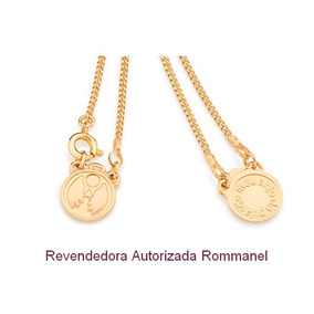b06d516f3ea Escapulário Rommanel 3 Camadas De Ouro Puro Frete Grátis - Joias e ...
