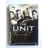 Dvd The Unit Tropa De Elite 3ª Temporada Leg Envio Grátis