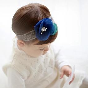 1 Pzaccesorio Flor Para El Cabello Bebé Niña Encaje Elegante