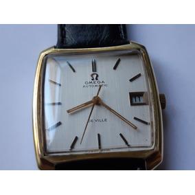 7b6bc2afa53 Relógio Omega De Ville Automático Calendário Suiço Leilão - Relógios ...