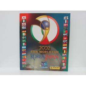 Copa Do Mundo 2002 Korea Japão Álbum Vazio Novo Panini