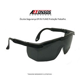 Oculos De Segurança Transparente E Preto Epi - Óculos no Mercado ... f9ad2d1380