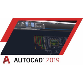 Autocad 2019, Windows 64 Bits + Video Tutorial, Esp / Ing