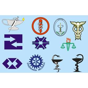Simbolos De Profissões Diversas Vetores Corel Draw Editaveis