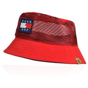 Chapeu Bucket Vermelho - Acessórios da Moda no Mercado Livre Brasil 37bad1c0a47