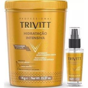 Kit Trivitt Máscara Nº3 1kg + Reparador De Pontas