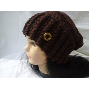 Gorro Touca Adulto Trico Croche Gorros Toucas Feminino - Acessórios ... 05117911f45