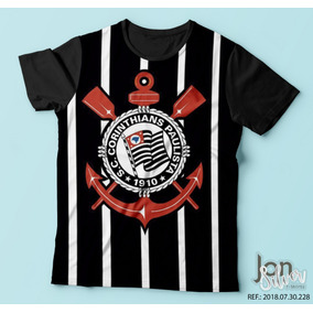 Camisetas Estampadas Corinthians Timo So - Camisetas Manga Curta no ... 1a64dbdd4b786