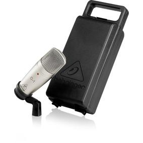 Microfono De Condensador Behringer C1 De Estudio