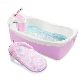 Bañera De Lujo Para Bebe Rosa Summer