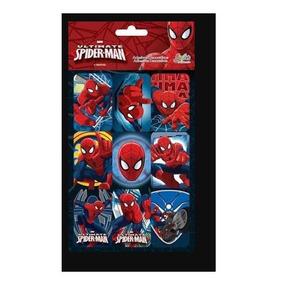 Adesivo Sticker Spider Man 617105/617555 Tilibra