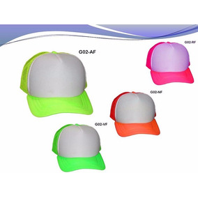 b3ec9f797a491 Gorra Color Neon - Gorras de Hombre en Mercado Libre México
