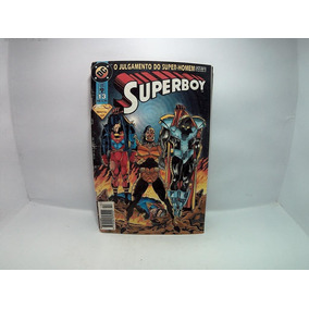 Hq Gibi Super Boy O Julgamento Do Super Homem N.13