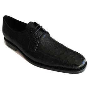 Zapato Fino Negro Piel Original Segun Foto