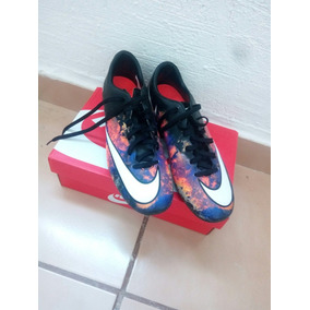 Botines Futbol Nike Mercurial Cr7 Negros Usado en Mercado Libre México 2a35c4ec35887