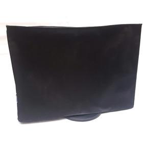 Capa Para Monitor 22 23 24 Teclado Preto Proteção