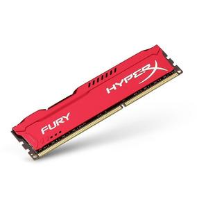 Memoria Kingston Hyperx Fury Red 8gb 2933mhz Ddr4 (nuevo)