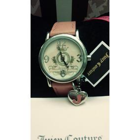 Reloj Pink Leather Juicy Couture Original 100%