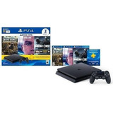 Consola Ps4 Hits Bundle 5 1tb + 3 Juegos + Membresia