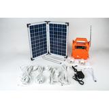 Kit Generador De Energía Solar Portátil