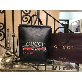 Mochila Gucci Tipo Morral 4 Colores Mejor Calidad