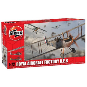 Royal Aircraft Factory R.e.8 Escala 1/72 Airfix A01076