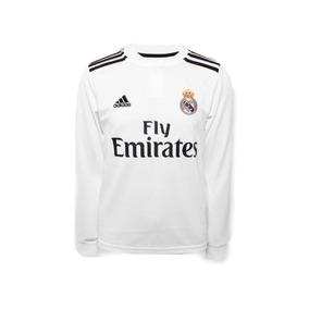 ec6a9cc9fa6f9 Uniforme Del Real Madrid Para Niños De Manga Larga De Cr7 en Mercado ...