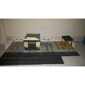 Diorama Oficina + Garagem 1/24