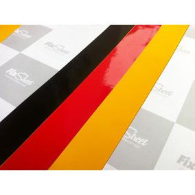 Adesivo Bandeira Alemanha Para Grade - Kit Com 3 Tiras