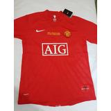 Camisa Manchester United 2008 Ronaldo 7 Cr7 Pronta Entrega