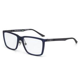 69fb1c9ef7dae Armação Oculos Grau Mormaii Nava M6056k6555 Azul Escuro Tran