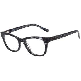 Evoke For You Dx4 - Óculos De Grau E02 Black Shine - Lente e499289297