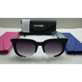 826a16c01ebb8 Oculos De Sol Miu Miu Rasoir - Óculos no Mercado Livre Brasil
