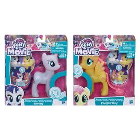 2d43b8872b My Little Pony Luminosa Amistad Rarity Y Flutershy Hasbro