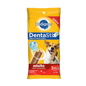 Pedigree Dentastix Pack 3 Barra Masticable 15gr C/u Adulto