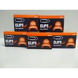 Clips 2/0 Kit 5 Caixa De 100 Unid Cada/metálicos