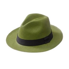 Sombreros Paja Toquilla 100% Tejidos A Mano Ecuador Verde 045218f479a